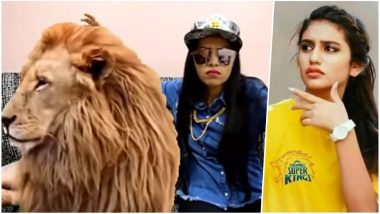 Dhinchak Pooja's Viral Song for Chennai Super Kings Will Make You Forget Priya Prakash Varrier's Photoshopped Hot Pic in CSK Jersey (Watch Video)