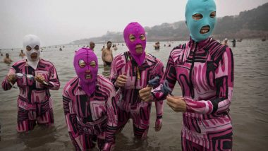 Facekini: Fashion Trend For Beachgoers That Vouch to Protect Skin From Sun
