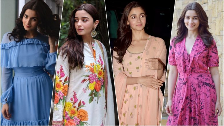 Alia Bhatt's Looks at Raazi Promotions: A Sneak Peek at the Stylish Actress' Breezy, Traditional-Yet-Trendy Summer Fashion (See Pictures)