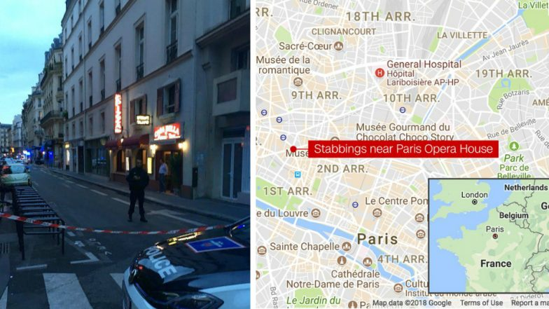 Paris Knife Attack: One killed, Four Others Injured in Opera District of Central France
