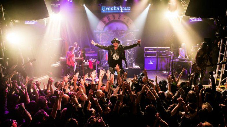 Guns N' Roses tease reunion with original lineup