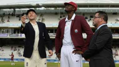 Live Cricket Streaming of West Indies vs England 2019 Series on SonyLIV: Check Live Cricket Score, Watch Free Telecast of WI vs ENG 1st Test Match on TV & Online