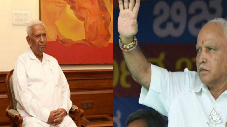 Karnataka Governor Vajubhai Vala Invites BJP's B S Yeddyurappa to Form Government