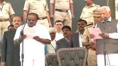 Karnataka Cabinet Complete List: Lone BSP MLA N Mahesh to be Inducted as Minister, DK Shivakumar Tops List of Congress Names in Team HD Kumaraswamy