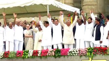 HD Kumaraswamy Takes Oath as Karnataka Chief Minister Amid Massive Opposition Unity