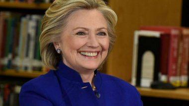 US Presidential Elections 2020: Hillary Clinton Meets Former Vice President Joe Biden
