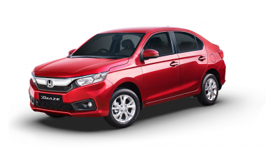 LIVE Updates: 2018 Honda Amaze Launched in India at Rs. 5.59 Lakh, Specifications, Colours, Interior, Features & Dimensions
