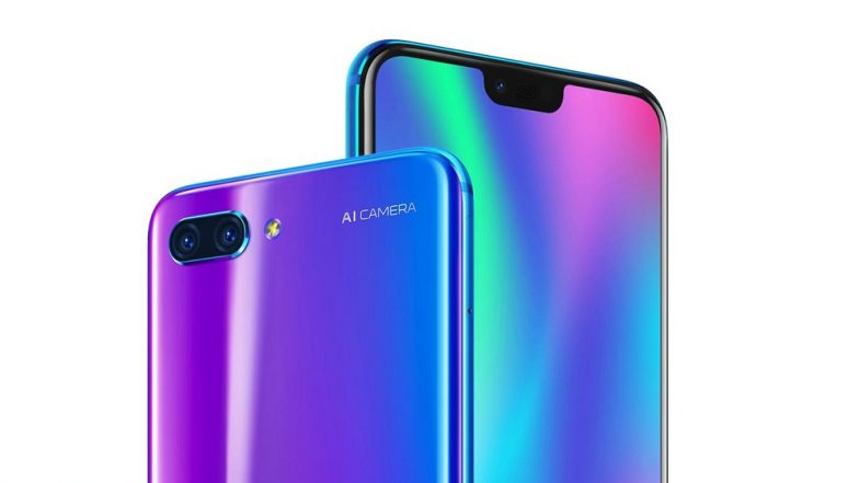 Honor 10 with an ultrasonic fingerprint sensor launching tomorrow