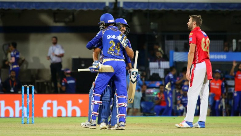 IPL 2018: Suryakumar, Lewis take MI to 181/4