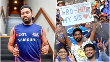 IPL 2018 Diaries: Rohit Sharma Gets a Sweet Proposal from a Loving Brother on Behalf of His Sister!