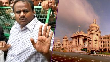 CM HD Kumaraswamy to Go for Floor-Test Today in Karnataka Vidhana Soudha to Prove Congress-JD(S) Coalition's Majority