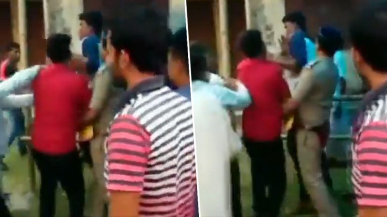 West Bengal Panchayat Elections 2018: TMC Minister Rabindra Nath Ghosh Slaps BJP Supporter at Cooch Behar Polling Booth | Watch Video