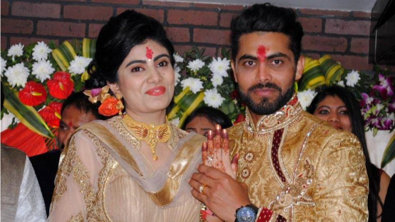 Cricketer Ravindra Jadeja's Wife Riva Solanki Attacked in Jamnagar by Policeman