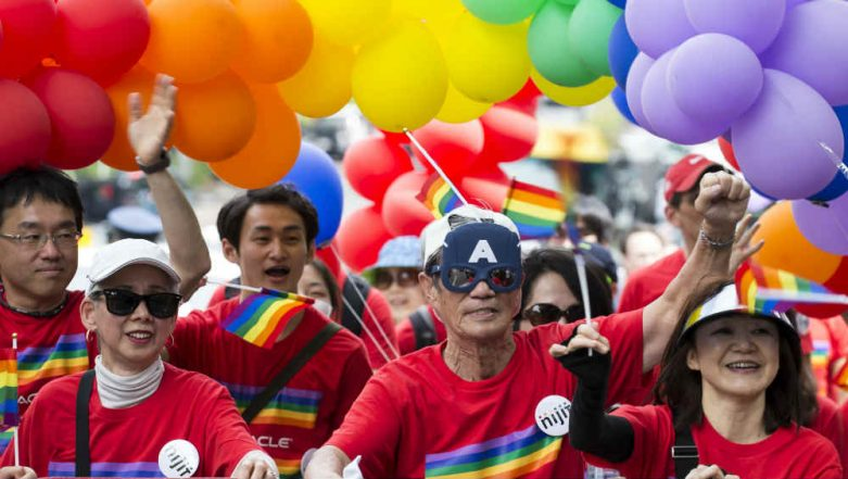 2018 Tokyo Rainbow Pride: LGBT Supporters March Streets of Japan For 'Love and Equality'