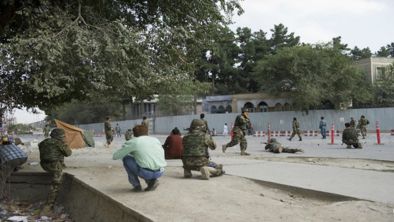 Militants Attack Afghanistan Government Building in Kabul