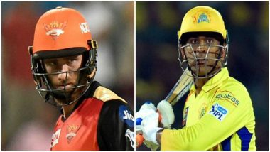 CSK vs SRH, IPL 2018 Final Match Preview: Chennai Super Kings, Sunrisers Hyderabad Battle it Out in the Summit Clash