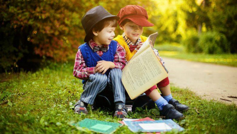 Green Environment Helps Children be Stress-free