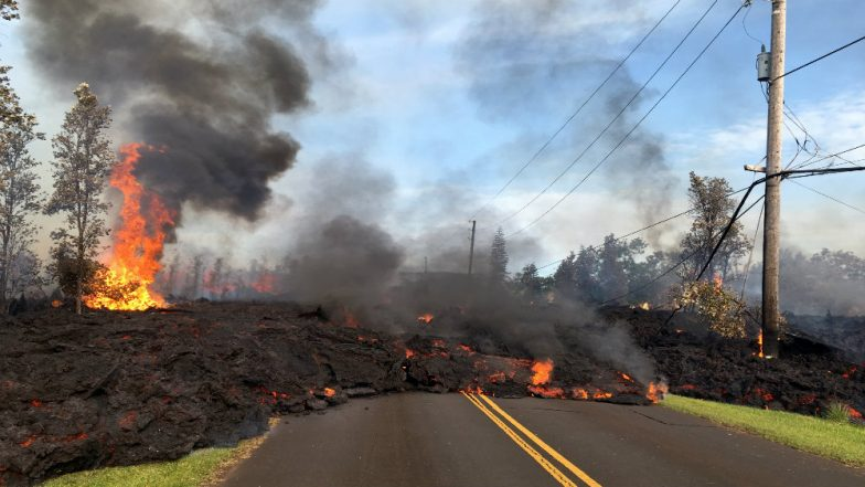 Kilauea Volcano Eruption Destroys 26 Houses in Hawaii