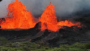 Hawaii's Kilauea Volcano Eruptions Intensify, Lava Reaches Pacific Ocean