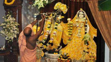 Mathura: Lord Krishna Sculpture Goes 'Missing' From Banke Bihari Temple in Vrindavan