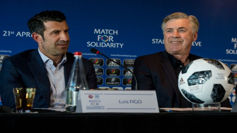 Luis Figo Expects Portugal to Win 2018 FIFA World Cup