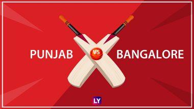 KXIP vs RCB LIVE Streaming IPL 2018: Get Live Cricket Score, Watch Free Telecast of Kings XI Punjab vs Royal Challengers Bangalore on TV & Online