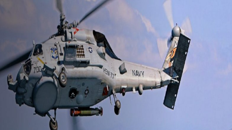 Indian Navy Likely to Close USD 2 Billion Deal with Lockheed Martin for MH-60 'Romeo' Seahawk Helicopters by October 2019