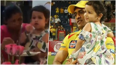 Ziva Dhoni Yells 'No Photo', This Video of MS Dhoni's Daughter Is Pure Gold! You Go, Girl