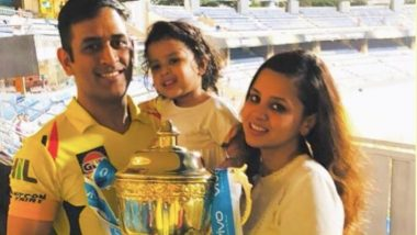 IPL 2018: Ziva Doesn't Care About Trophy, Says MS Dhoni; Shares Family Photo Post CSK's Win
