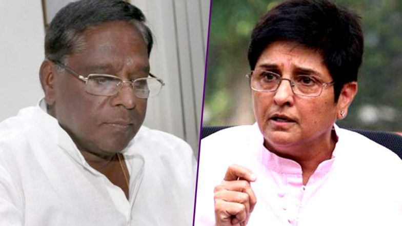 Puducherry Governor Kiran Bedi in a Reply to CM Claims She Is on Mission & Not on Job to Resign