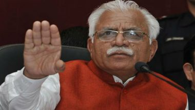 Haryana Assembly Election Results 2019: Close Contest Between BJP and Congress, Silence Looms Large at Manohar Lal Khattar Residence