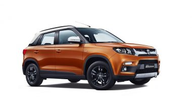 Maruti Vitara Brezza 2018 with Automatic Gear Shift Launched; Priced in India from Rs. 8.54 Lakh