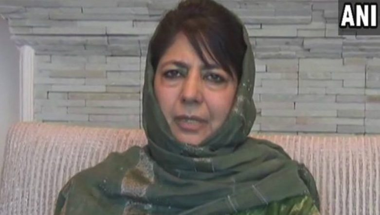 Jammu and Kashmir: Mehbooba Mufti's Cavalcade Attacked in Anantnag