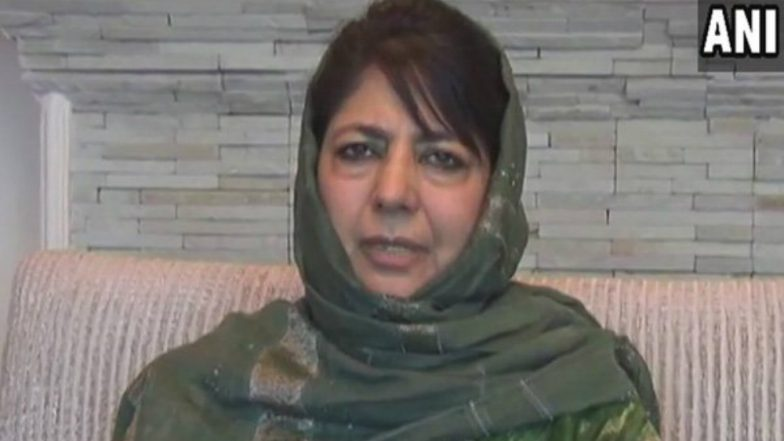 Ceasefire in J&K During Month of Ramzan: CM Mehbooba Mufti Express Gratitude, Thanks PM Narendra Modi and Rajnath Singh