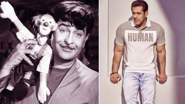 Salman Khan To Give an Ode to Raj Kapoor's Mera Naam Joker in Bharat