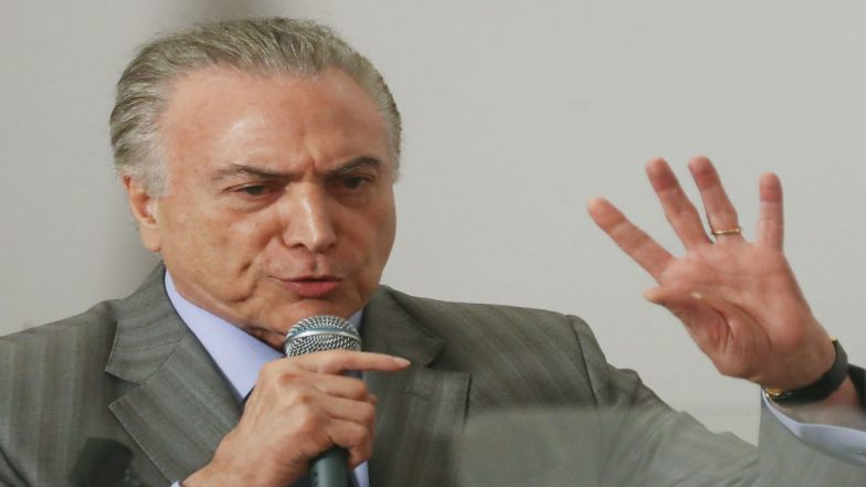 Brazilian President Michel Temer Announces Diesel Price Cut to End Drivers Strike