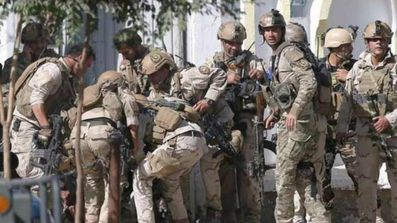Afghan troops repel Taliban in savage street fighting