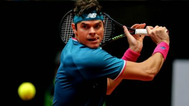 French Open 2018: Milos Raonic Pulls Out of Roland Garros Due to Right Knee Injury