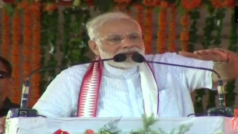 PM Narendra Modi in Cuttack on 4 Years of NDA: Takes Commitment Not Confusion to Take Decision Like One Rank, One Pension