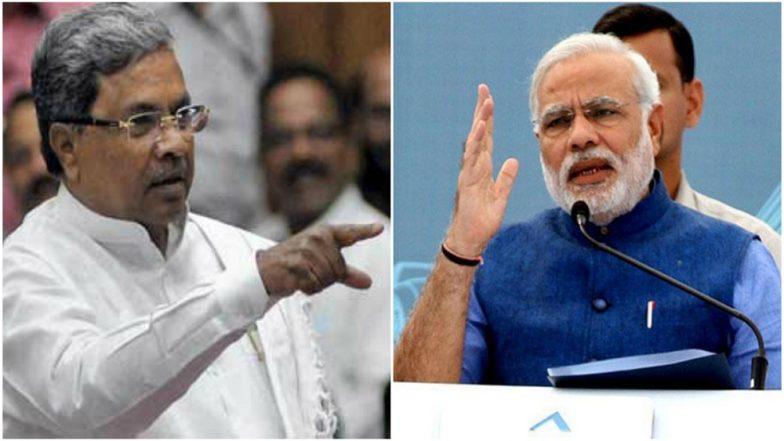 'Narendra Modi and Amit Shah Behind Horse Trading in Karnataka's BJP', Says Siddaramaiah