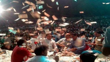 It's Raining Money on Folk Singers in Gujarat: Rs 50 Lakh 'Showered' on Geeta Rabar & Brijrajdan Gadhvi in Valsad