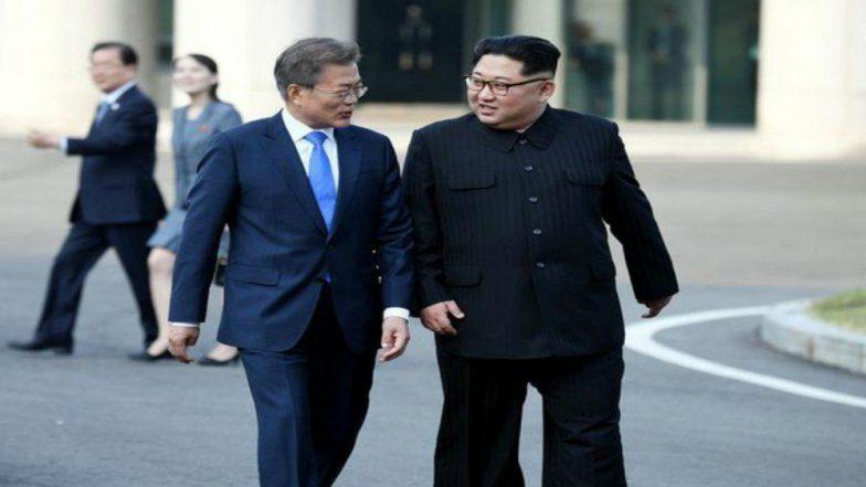 South Korean President Moon Jae-in Meet North Korean Leader Kim Jong Un Over US-North Korea Summit