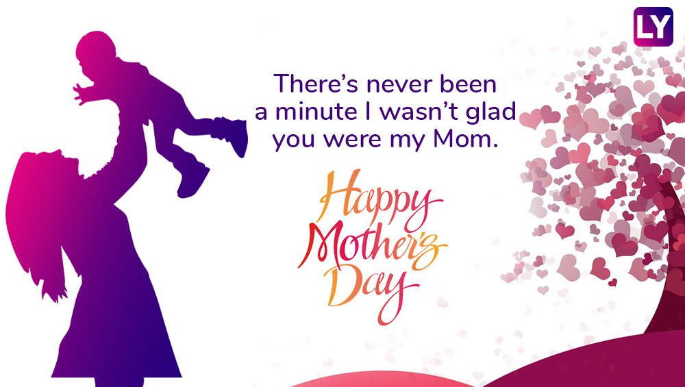 Spoil your mom today, it's Mother's Day