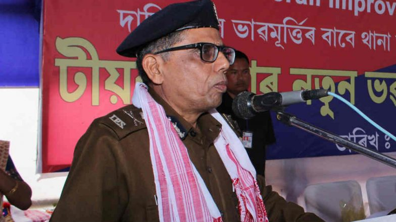 Assam's Former DGP Mukesh Sahay Takes Maths Class for Students After Retirement