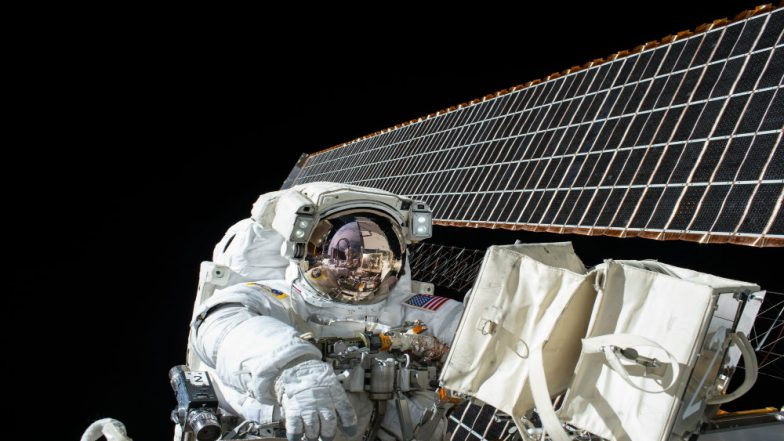 Two NASA Astronauts to Take Live Spacewalk Week