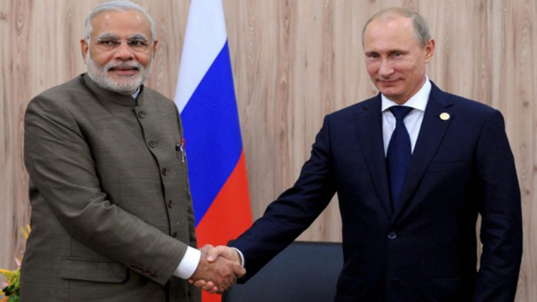 PM Narendra Modi to Visit Russia on May 21 for Informal Summit with Vladimir President Putin in Sochi, will Discuss Bilateral Matters