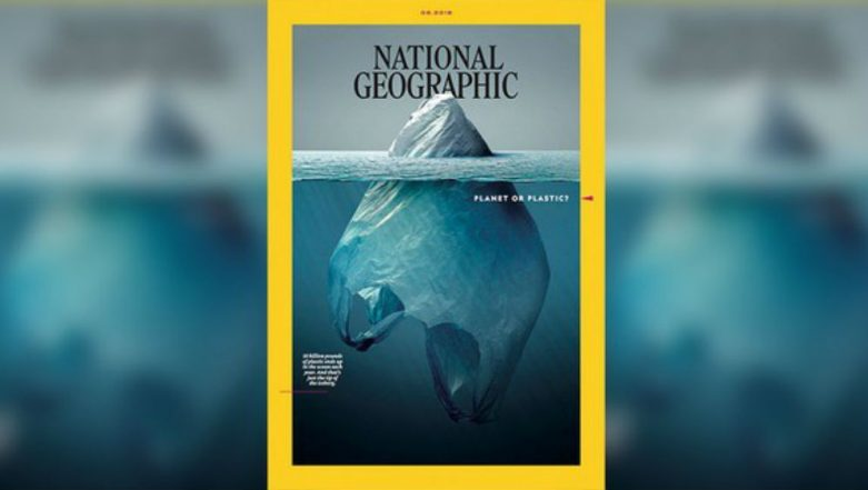 National Geographic's Latest Cover on Plastic Pollution Is 'Just Tip of the Iceberg'