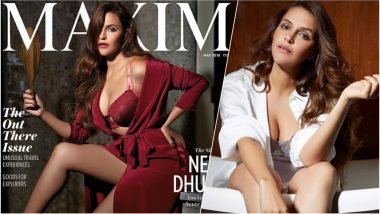 Neha Dhupia Turns Seductress in This Sexy Photoshoot for Maxim, Shares Hot Pictures in Lingerie on Instagram!