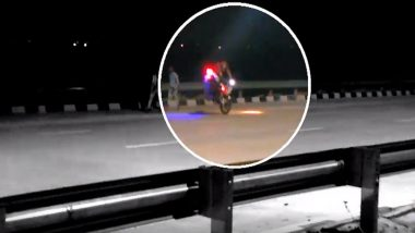 Video of Bikers' Stunts on Eastern Peripheral Expressway a Night Before Inauguration Raises Concern of Security Breach