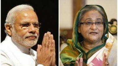 Narendra Modi, Sheikh Hasina Jointly Inaugurate Oil Pipeline, Railway Projects